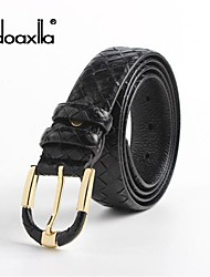 Doaxila® Men'S Fashion Knitting Lines Head Layer Cowhide Belt