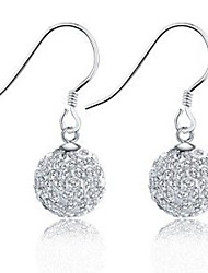 925 серебряные серьги серебряные серьги корейский моды стерлингов