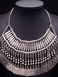 colar vintage jóias jq das mulheres
