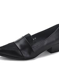 женская обувь острым носом коренастый пятки бездельников обувь более цветов