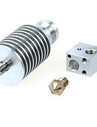 todos os metais curta distância para Bowden extrusora gt052 0,3 milímetros / 0,4 milímetros / 0,5 milímetros nozzle1.75mm / feltro de 3mm filamento