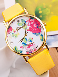 Wanbao Women's Fashion Flower Bracelet Watch