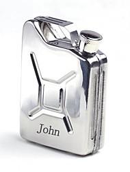 balão de aço inoxidável presente personalizado de 5 oz prata