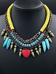 Moro europäischen Stil luxuriöse Quasten necklace_necklace: 50 + 7cm # n0028