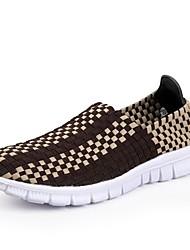Scarpe da uomo Casual Finta pelle Sneakers alla moda Nero/Blu/Marrone/Blu scuro