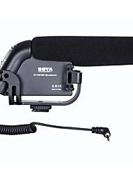 BOYA BY-VM190P Camera Mounted Shotgun Condenser Microphone for Canon Nikon Sony Cameras Mini Camcorders