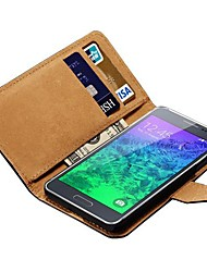 Tasche aus echtem Leder für Samsung-Galaxie alpha G850 g850f