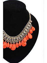 Colorful day  Women's European and American fashion necklace-0526010