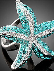XUAN Fashion Casual Elegant Star Fish Ring