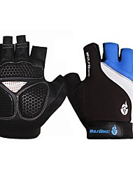WOLFBIKE Cycling Gloves Fingerless Non-slip Mitten Road MTB Motorcycle Breathable Half Finger