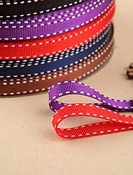 2/5-Inch Brunet Series Double Faced Grosgrain Ribbon(More Color)