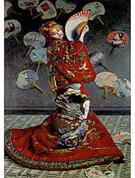 una persiana mujer bailando japonés