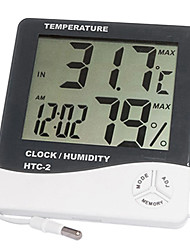 Digital High Precision Multifunctional Hygrometer Thermometer Temperature Humidity Meter with Probe WALVICO HTC-2