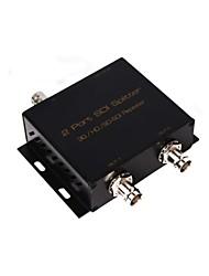 SDI Splitter HDMI switcher une entrée SDI 2 SORTIE SDI 3G HD SD-SDI amplificateur répéteur extender
