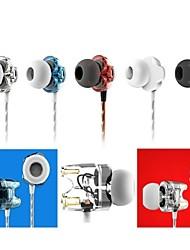 TTPod T1s hifi dual dinamica in-ear cuffie / auricolari con microfono (2014 nuovo) per smart phone, amplificatore per cuffie