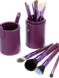 Hot Sale Professional Makeup Brush Set with 12 Cosmetic Brushes and Cylinder
