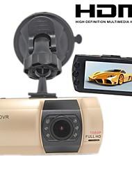 """h.264 1920 * 1080p dvr cam auto fullhd, monitoraggio parcheggio, oro record di auto A9, LCD da 2,7 """"visione notturna g-sensor con hdmi"""