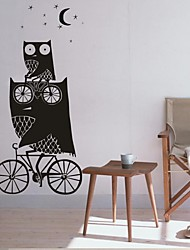 Wall Stickers Wall Decals, Home Decoration The Owl Fairy Tale Nursery PVC Mural Wall Stickers