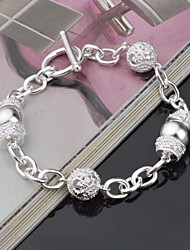 Women's Chain Bracelet Chain Necklaces Rhinestone Unique Design Fashion Jewelry Sliver Jewelry 1pc