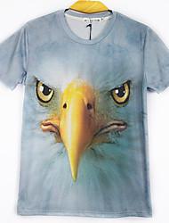 Manny moda tudo t-shirt padrão de jogo 3d animais
