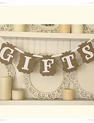 "Wedding Décor Rustic ""GIFTS""  Gift & Cards Table Banner Sign"