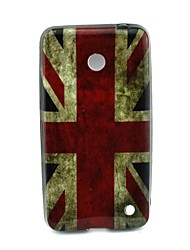 For Nokia Case Pattern Case Back Cover Case Flag Soft TPU Nokia Nokia Lumia 630