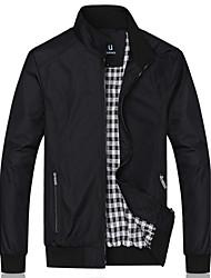 HUACAI Casual Collar Slim Jacket