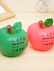 vrede fruit spaarpot romantische apple led nigth licht (willekeurige kleur)