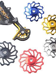Mixim c11 alumínio mountain bike liga 11t desviador traseiro rolo de guia cnc