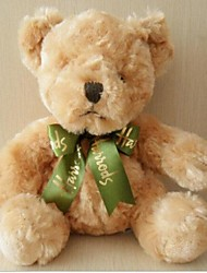 Unisex The New Recording Plush Embossed Curly Teddy Bear Toy