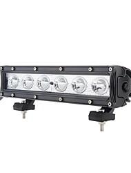 dy-SC1060 60w 4800lm 6000K 12-CREE LED Weißlichtpunktstrahl Geländelampe (10-30 V DC) (schwarz)