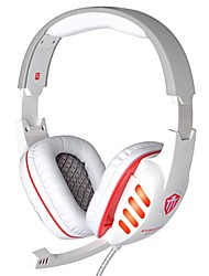 Cosonic CD-619 Headphone Wired 3.5mm Over Ear Gaming with Microphone LED Light For PC