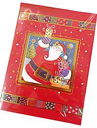 estéreo tarjeta de Navidad hecha a mano con la música (color al azar)