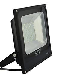 ac180-260v 50w conduit extérieur en aluminium SMD Projecteur en noir