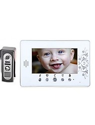 "A739   7"" LCD Video Door Phone Doorbell Home Security Intercom"
