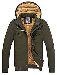 Langxin Men's Fashion Casual Warm Jacket