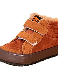Sneakers de diseño ( Marrón/Rojo ) - Comfort - Ante Sintético