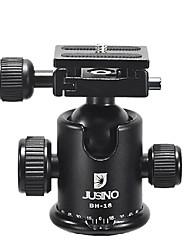 Jusino bh-18 cabeza de la bola de aluminio para cámaras réflex