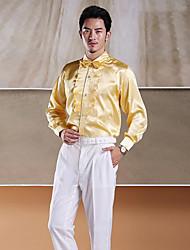 Yellow Tuxedo Shirt