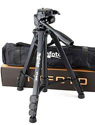 jinfoto vt-640 universal de alumínio câmera tripé ultraleve ultra-curto portátil para filmadoras / câmeras / SLRs