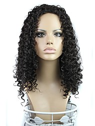 24 pollici capelli lunghi ricci di 180 gradi ad alta temperatura parrucca fibra sintetica