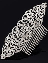 Women's Flower Girl's Rhinestone Alloy Headpiece-Wedding Hair Combs