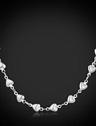 Dámské Řetízky Klasické Náhrdelníky Nerez Módní Šperky Svatební Párty Denní Ležérní 1ks
