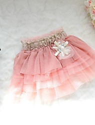 Girl's Chiffon/Cotton Skirt , Summer/Spring