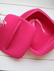 bol cube pour la cuisson, le stockage ou camping en plein air, un matériau en silicone sécurité alimentaire, couleur aléatoire