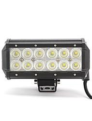 dy-sc6036 36w 3060lm 6000K 12-CREE LED Weißlichtstrahl Combo Geländelampe (10-30 V DC, schwarz)