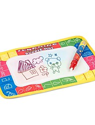 Water Drawing Toys Mat &1 Magic Pen/Water Drawing Board/baby Play Mat(25*18*4cm)