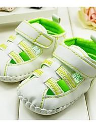 pattini in primo luogo camminatore piani del tallone sneakers modo del cotone con le scarpe nastro magico