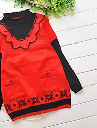 blusas de mangas cottonlong da menina