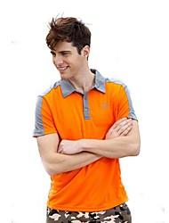 Homme Hauts/Tops / T-shirt Camping & Randonnée / Pêche / Fitness / Golf / Sport de détente / Badminton / Cyclisme/VéloRespirable /